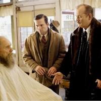 """Robert Duvall, con barba (a la izq.) y Bill Murray (a la derecha), en """"Get Low"""", que va hoy por AXN a las 23."""