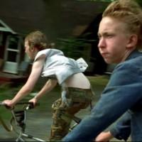 """""""Gummo"""", el actor Jacobs Reynolds en la película homónima de 1997 de Harmony Korine."""