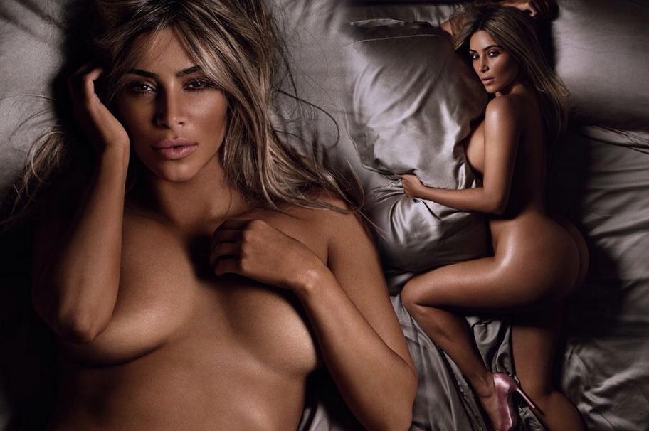 De nuevo Marcus Piggott y Mert Alas, pareja de fotógrafos y amantes, con Kardashian, siempre elevada en kilos, altura y volutas.