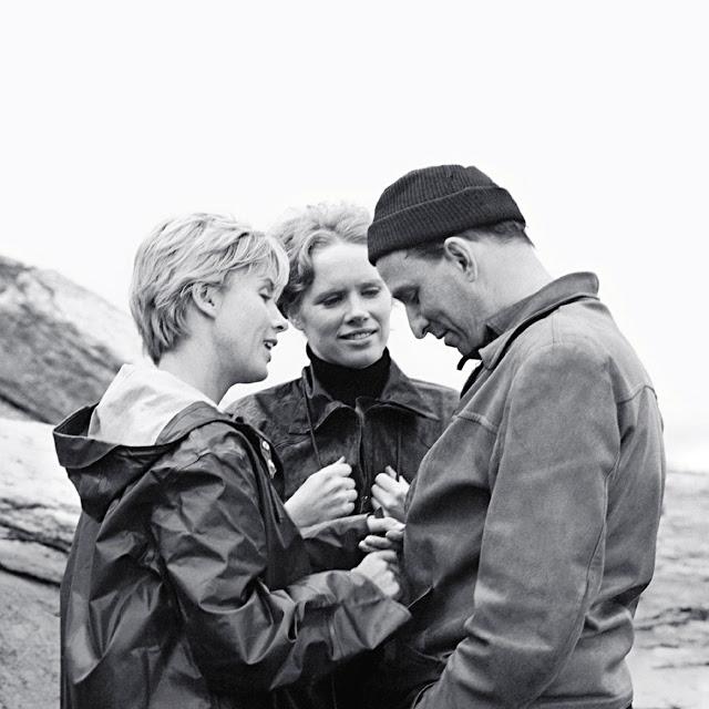 Bibi Andersson, Ingmar Bergman e Liv Ullman