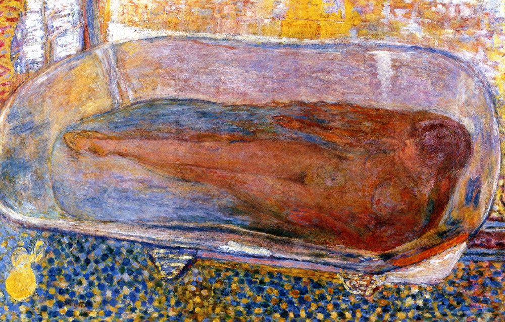 Buy The Large Bath, Nude by Pierre Bonnard