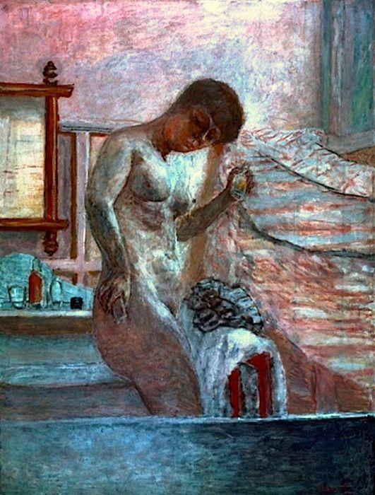 Pierre-Bonnard-Nackte-Frau-bei-der-Toilette-1920