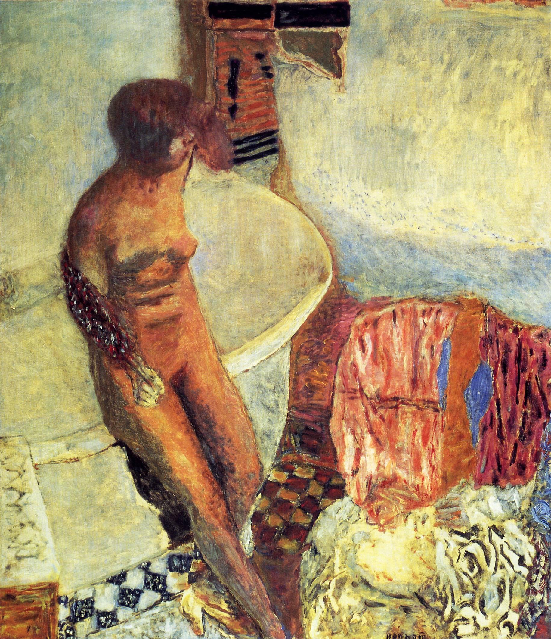Pintura de Pierre Bonnard