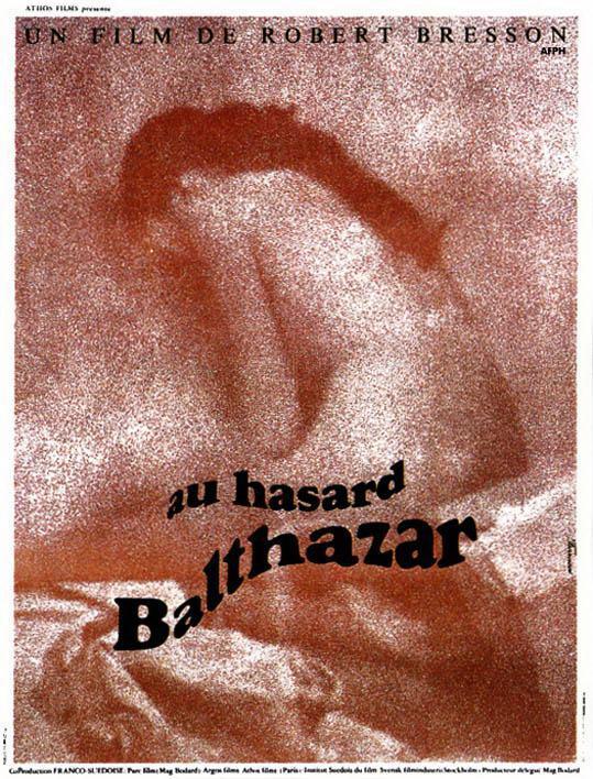 """""""Al azar Balthazar"""" (1966), de Robert Bresson. (de FilmAffinity. España)"""
