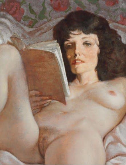 La Lectora. (Obra de autor no identificado. En Pinterest)