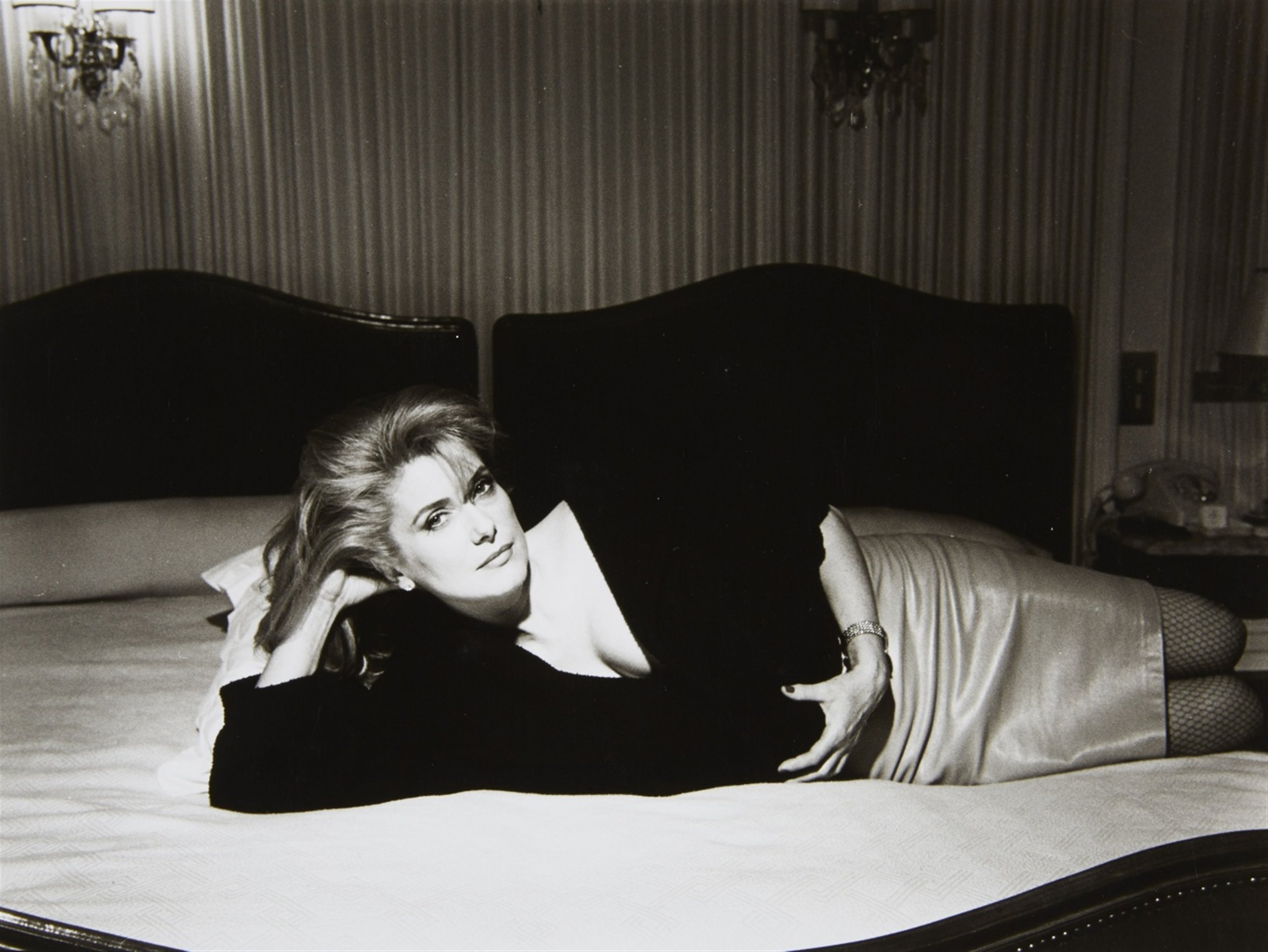 CATHERINE DENEUVE, CLARO, CON BETTINA RHEIMS