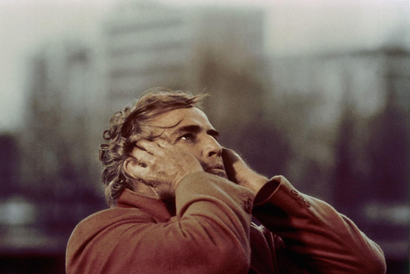 """MARLON BRANDO EN LA PREMONITORIA """"ULTIMO TANGO EN PARÍS"""", DE BERNARDO BERTOLUCCI (diciembre de 1972)"""