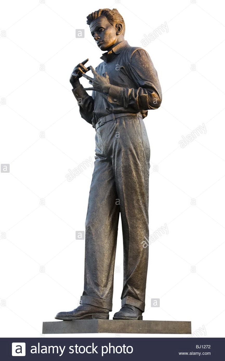 Estatua de Egon Schiele en Tulln, Baja Austria, Austria, Europa