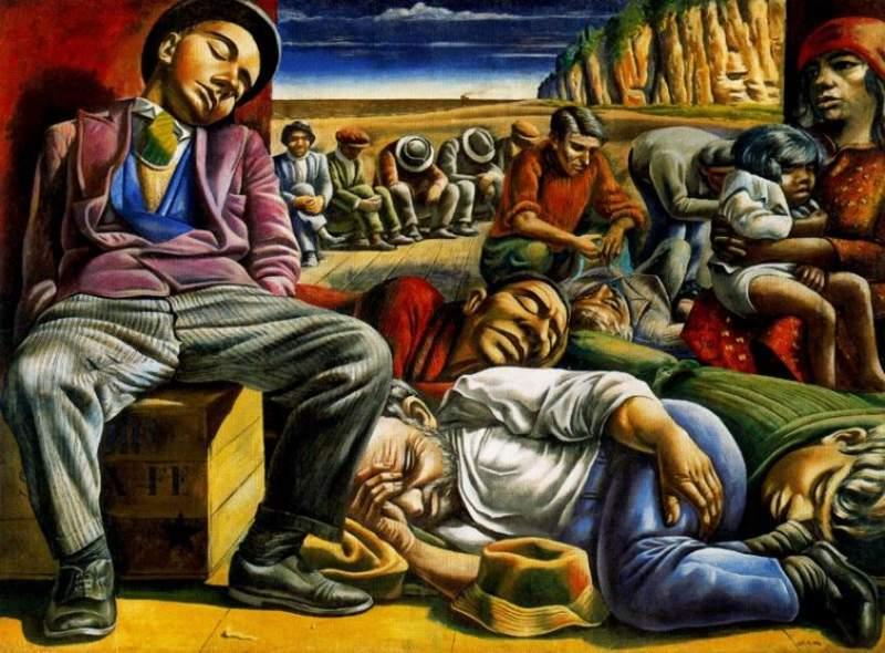 """ANTONIO BERNI. """"DESOCUPADOS"""" (1934)"""