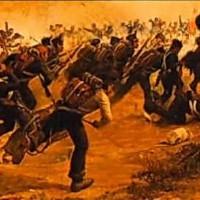 Derrota de CANCHA RAYADA DEL EJÉRCITO LIBERADOR DEL GENERAL SAN MARTÍN EN FEBRERO DE 1818 (Ataque nocturno por sorpresa del ejército imperial español). SAN MARTÍN, CON SUS TROPAS MALTRECHAS Y DISPERSAS, SE RECOMPUSO EN MENOS DE UN MES Y LIBERÓ A CHILE Y PERÚ.