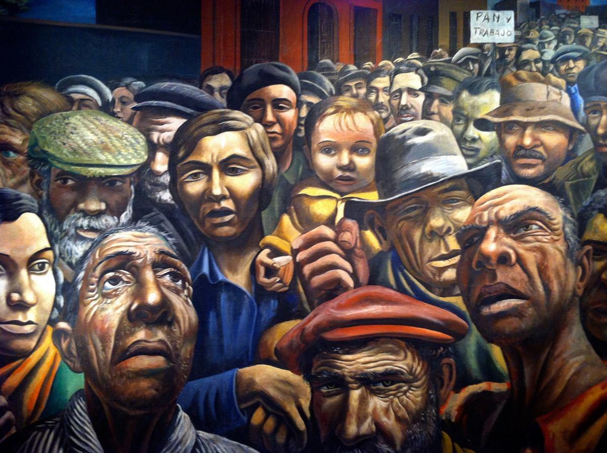 2015-2018. ANTONIO BERNI. La Manifestación, (1934).