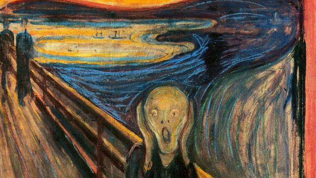 El grito es el título de cuatro cuadros del noruego Edvard Munch. La versión más famosa se encuentra en la Galería Nacional de Noruega y fue completada en 1893.