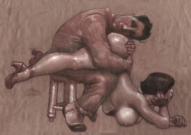 LA BANDONENONA 1. Obra del artista argentino, nacido en Rosario y en España (supo estar), EL TOMI. Alias de TOMÁS MULLER.
