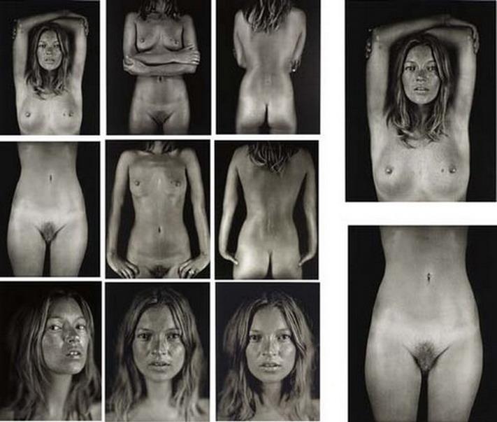 CHUCK CLOSE Y KATE MOSS. Sin título (Kate, 2005).   53.3 × 43.2 cm. Edición especial de 25 ejemplares. WWW.ARTSY.NET