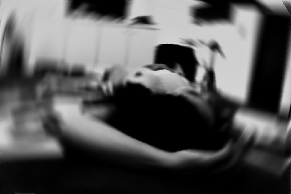 Imagen compuesta entre la noche del miércoles 13 y la madrugada del jueves 14 de febrero del año en curso. Sobre un registro reciente tomado en la ciudad de La Plata, en departamento de tercer piso con balcón a Plaza Islas Malvinas. Argentina.
