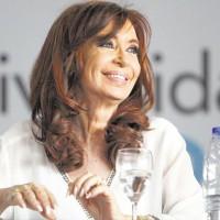Leandro Teisseyre fotografía a Cristina Fernández de Kirchner. Diario Página12 de Buenos Aires.