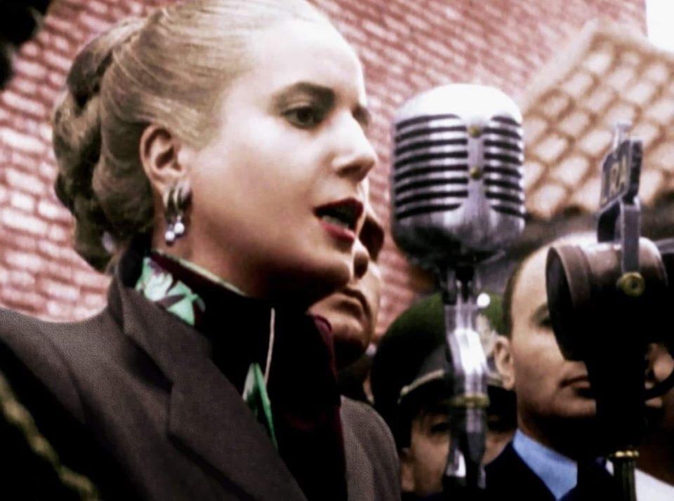 (Tomada de Facebook este 7 de mayo del 2019, centenario del nacimiento de Eva Perón)