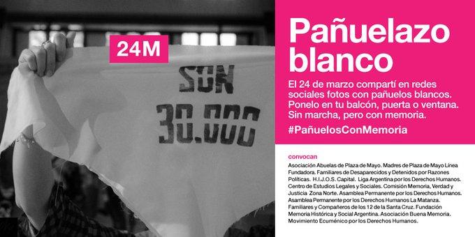 24 de marzo del 2020 de la Civilización Argentina